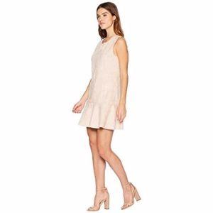BCBGMAXAZARIA | Soft Faux Suede Shift Dress
